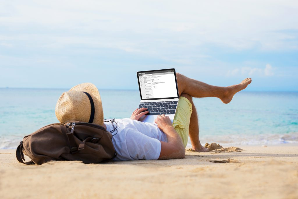 Take a Vacation Even While Learning Virtually & Working Remote